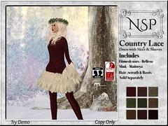 NSP Country Lace Dress - V4