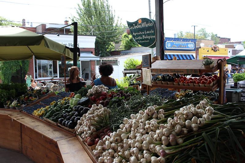 Mercado Jean-Talon Montreal