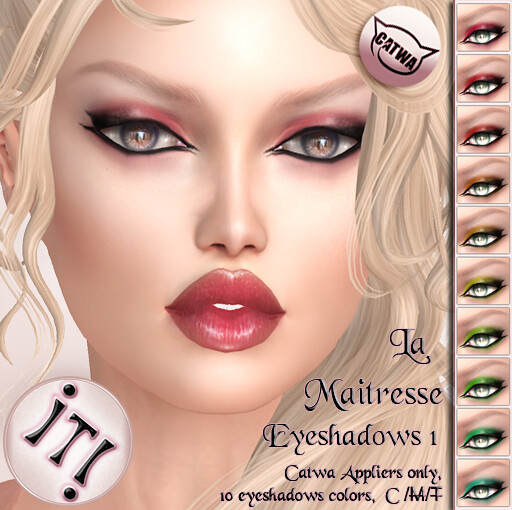 !IT! - La Maitresse Eyeshadows 1 Image - SecondLifeHub.com