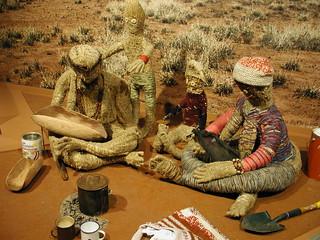 Aboriginal art at the NMA Upper Galleries