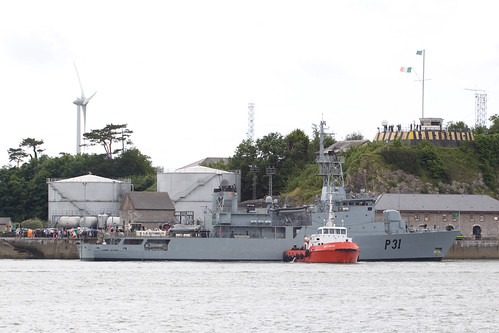 P31 LE Eithne returns home
