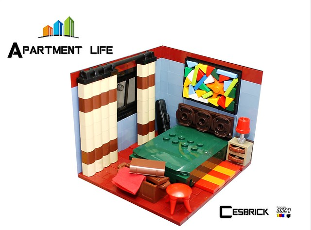 LEGO Apartment life - Bedroom