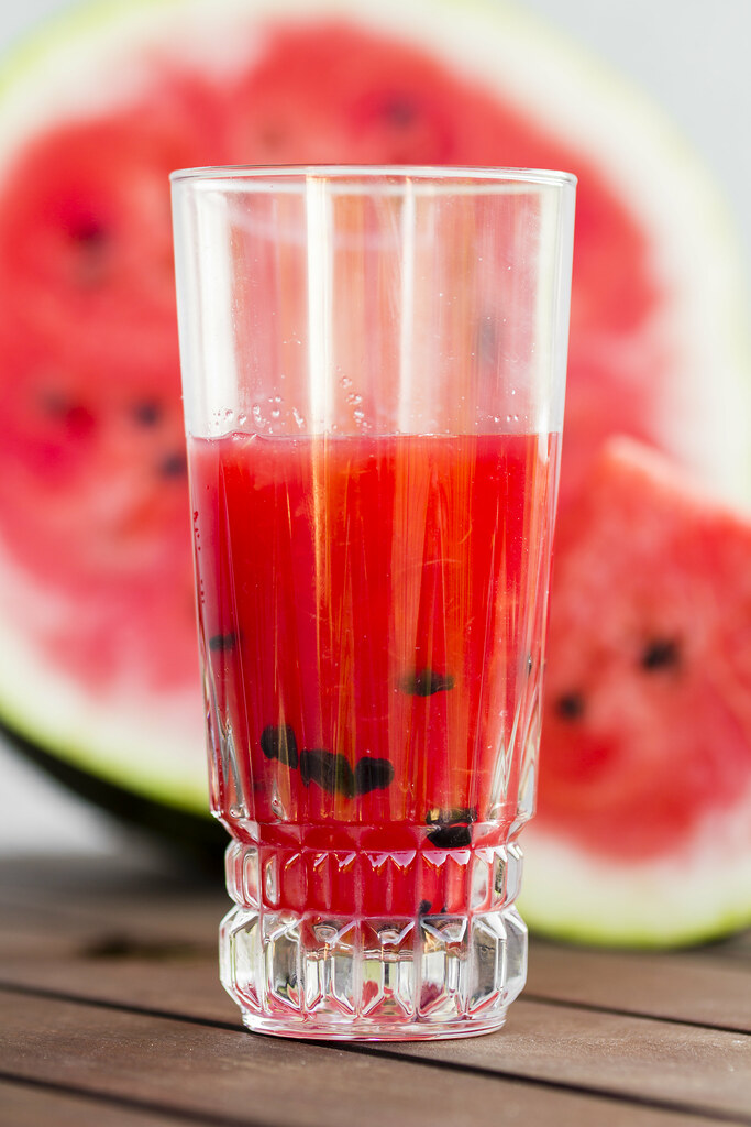 Fresh watermelon drink