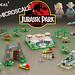 Lego Ideas | Micro Jurassic Park by senteosan
