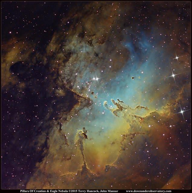 The Pillars Of Creation & Eagle Nebula