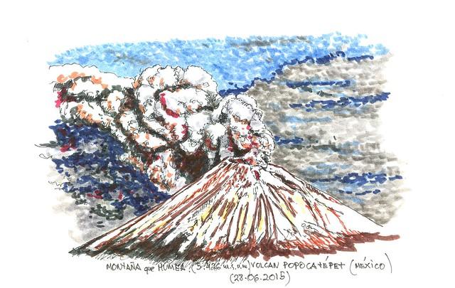 México. Volcán Popocatépet (5.426 m.s.n.m.)