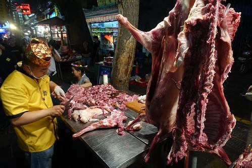 Xi'an, le marché de nuit