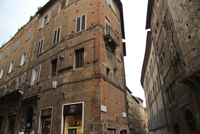 Corner in Siena