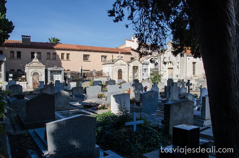 cementerio de Collioure y machado