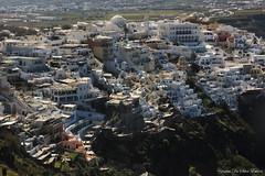 Fira, île de Santorini, Cyclades, Grèce