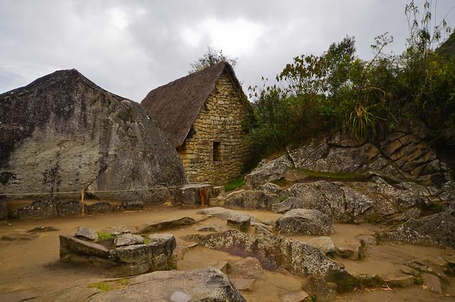 Casas de Machu Picchu