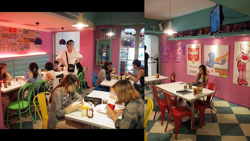 8 Fantasy Diner 潮流美式餐廳