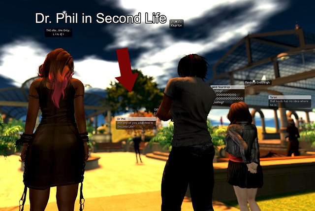 Dr. Phil in Second Life