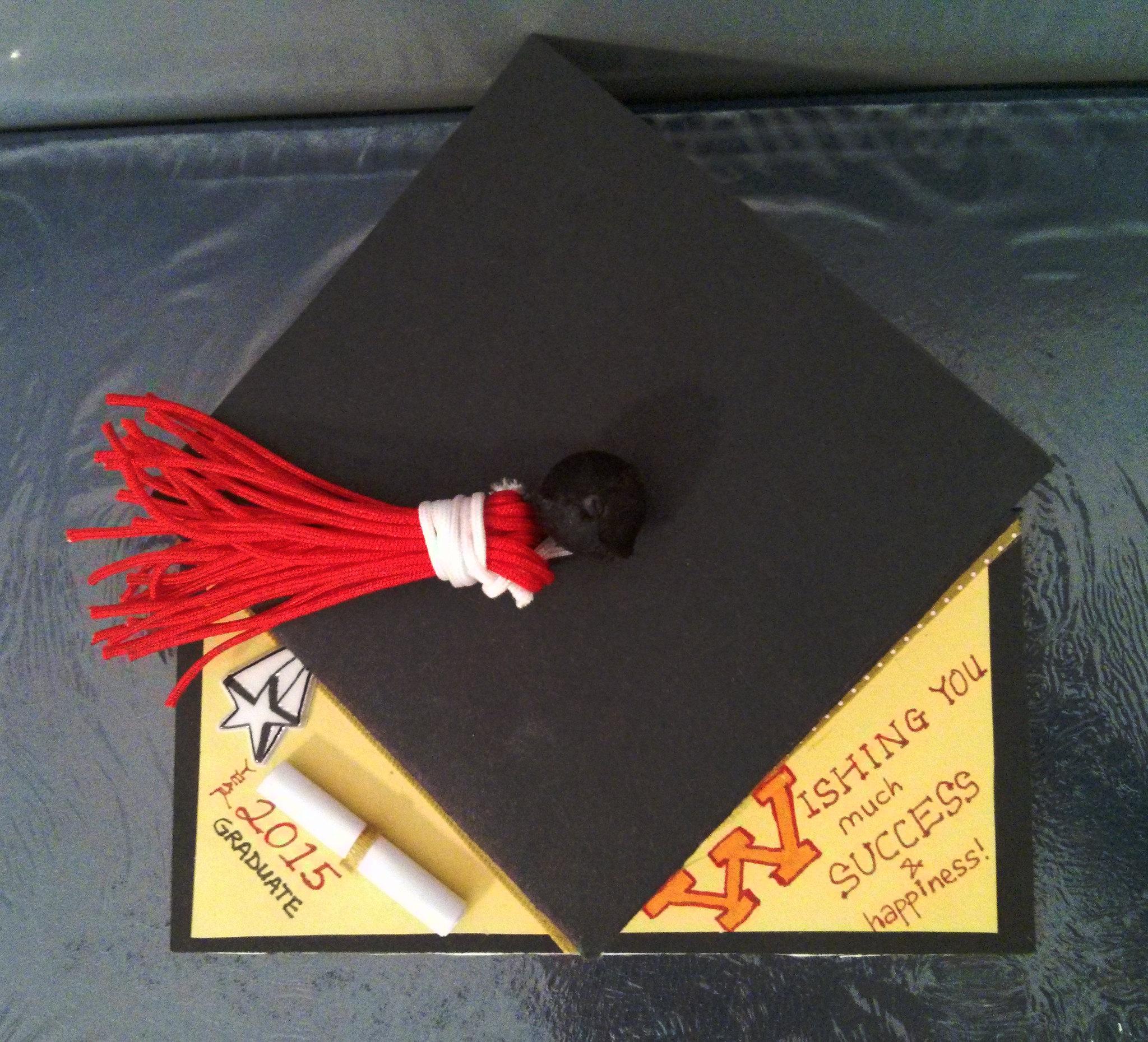 Diy Graduation Card Ideas Hums Of Sum