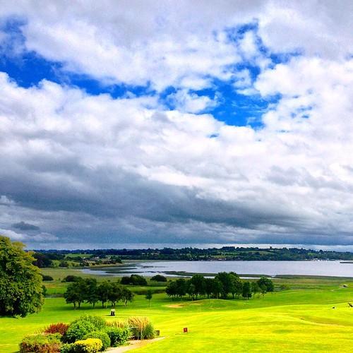 View of #LoughRee from #Glasson #Golf Club, #Athlone, #Westmeath, #Ireland