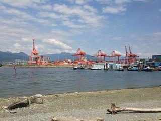 Crab Park, Vancouver.  Canada.