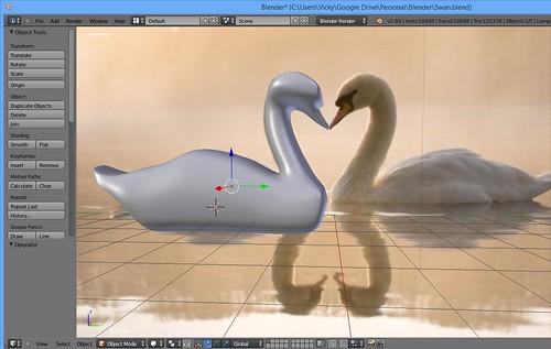 3D Modeling - Swan