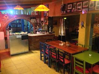 Minuteman Restaurant.  Uyuni, Bolivia.