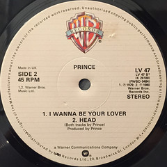PRINCE:GOTTA STOP(MESSIN' ABOUT)(LABEL SIDE-B)