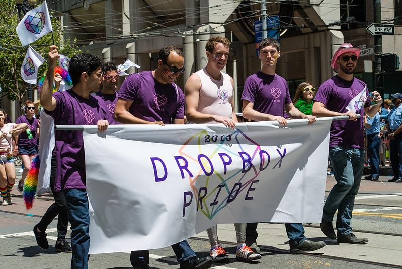 San Francisco Pride / Dropbox