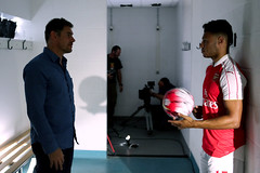 Premier League behind the scenes Alex Oxlade-Chamberlain 9