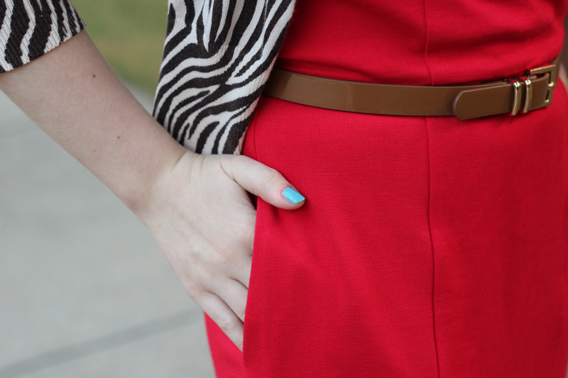 Modcloth My Byline of Work Dress Pocket Detailing