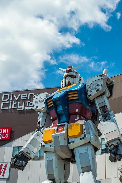 Diversity in Tokyo and Gundam