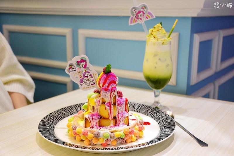 跳舞香水板橋下午茶推薦親子餐廳菜單彩虹小馬 (24)