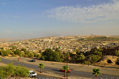 View point of Fez city