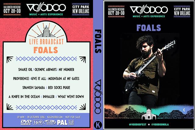Foals - Voodoo Festival 2016