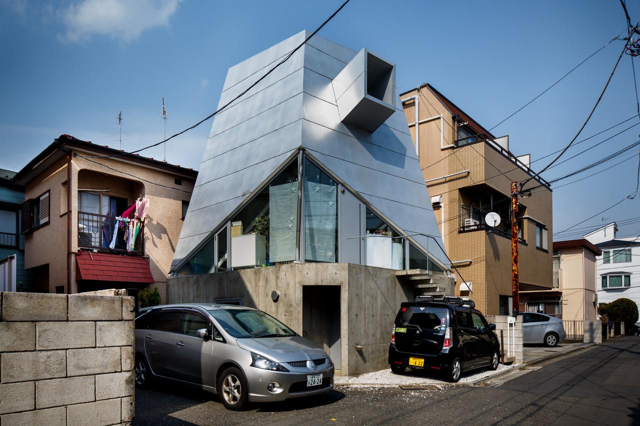 住宅密度大於高度,東京建築「怪宅」林立14