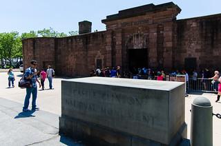Attēls no Castle Clinton. newyork us unitedstates batterypark poi castleclinton personofinterest castleclintonnationalmonument