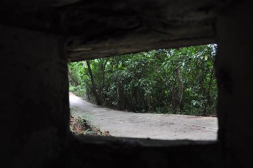 劍潭山親山步道-碉堡
