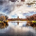 HDR shoot of Schloss Charlottenburg Berlin with a lake in front