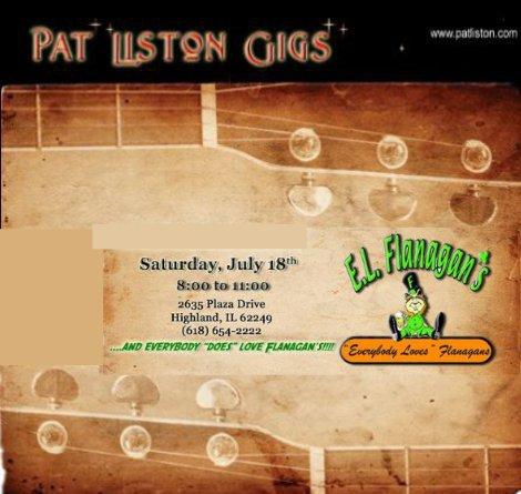 Pat Liston 7-18-15