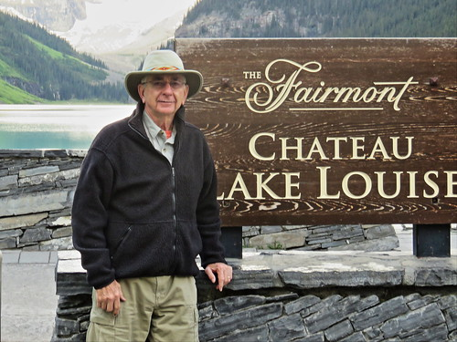 Ken at Lake Louise 20150620