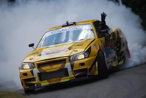 Piotr Wiecek, Nissan Skyline R34 GT-T, Goodwood Festival of Speed 2015