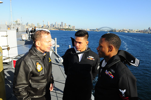 Blue Ridge Visits Allies In Sydney, Prepares For Joint Exercise