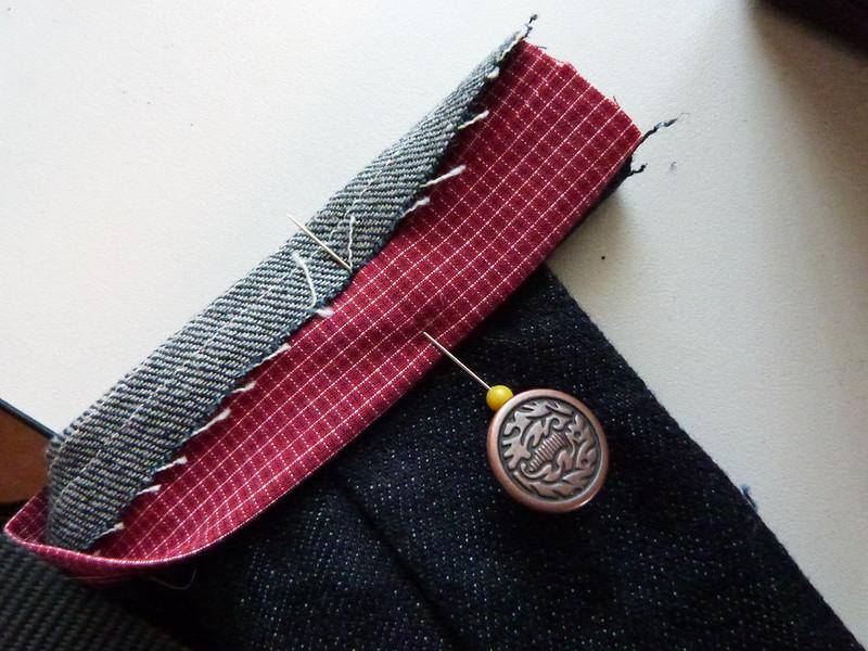 DEM JEANS Sew-A-Long: Finishing
