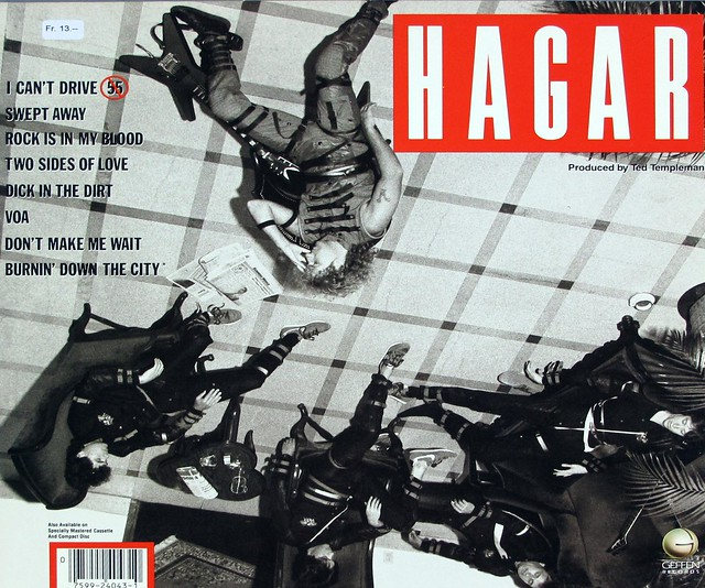 "SAMMY HAGAR VOA 12"" LP VINYL"