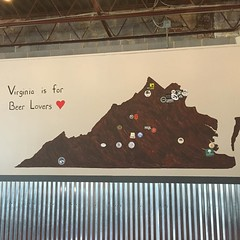 Virginia is for beer lovers. #virginia #brewery #5050Taphouse #winchester #hops #barley #5050