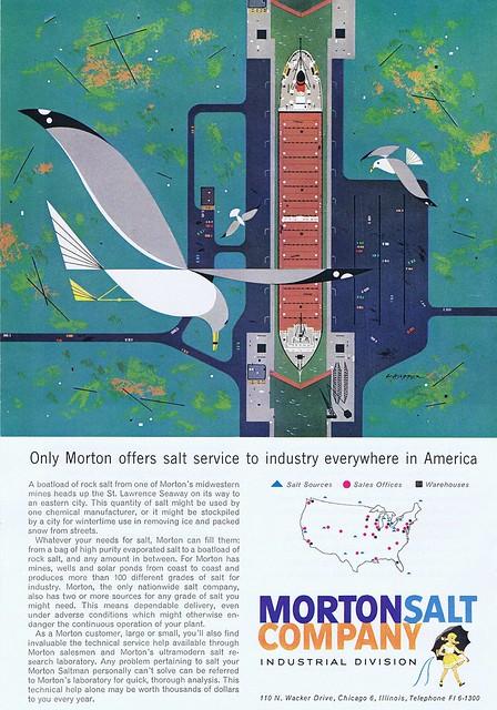 Morton Salt 1960