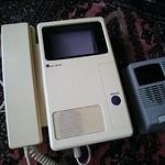 古いインターフォン