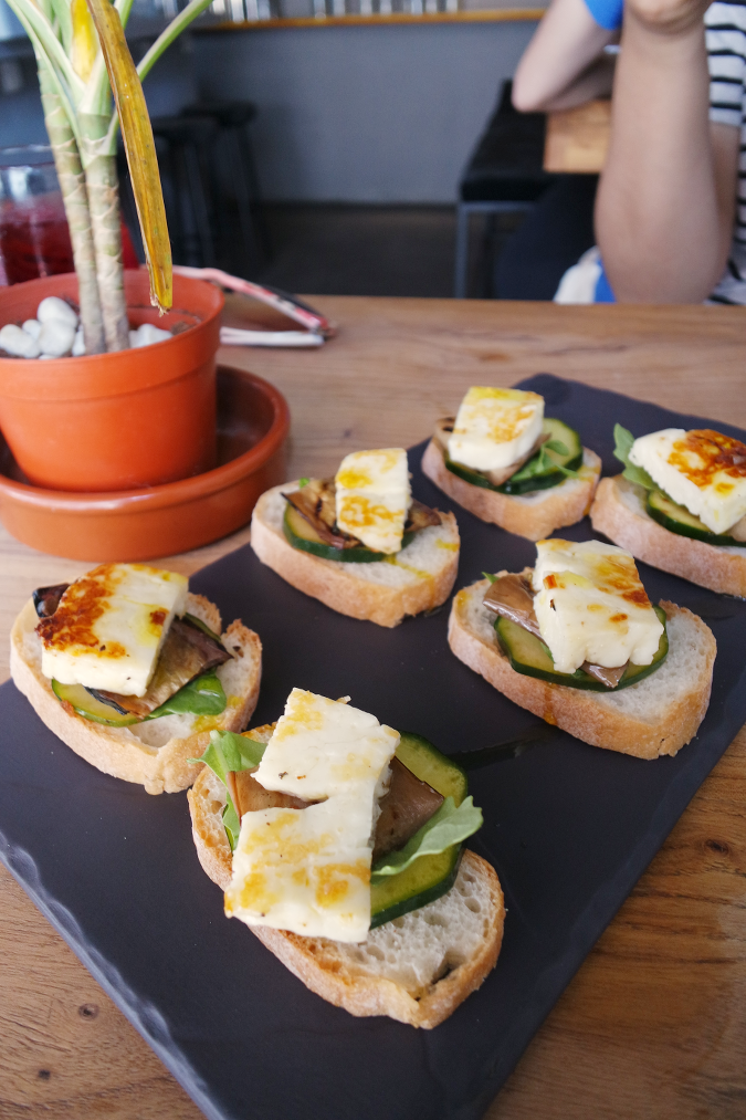 Daisybutter - Hong Kong Lifestyle and Fashion Blog: halloumi canapes