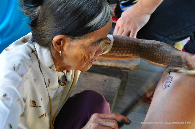 Whang-od still practicing traditional tattoo