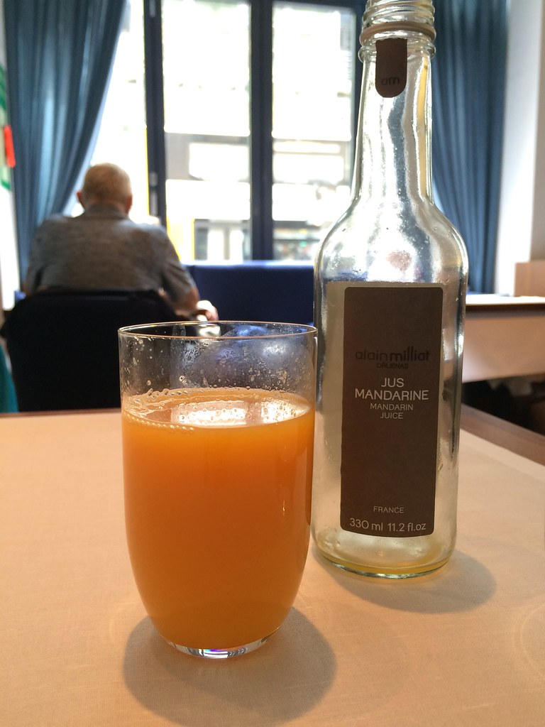 Tim Raue French madarin juice