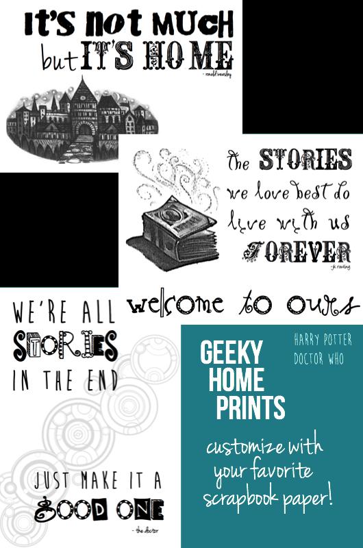 Geeky Home Prints | cookingalamel.com