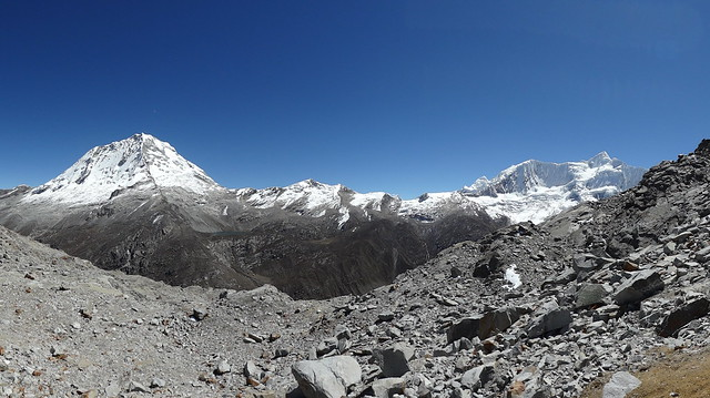 Highlights of the Cordillera Blanca Traverse: Ranrapallca and Ishinca, from the Cho Cho Pass