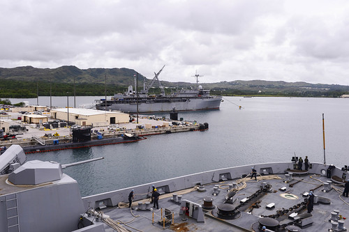 USS Green Bay Arrives in Guam