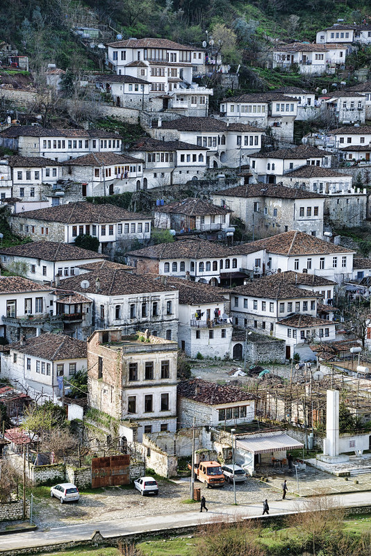 The white houses of Berat